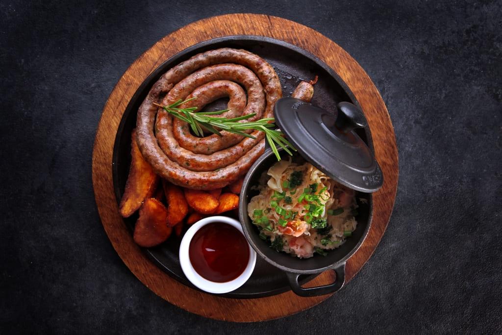 Колбаска из баранины